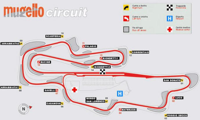 Tribuna Materassi.Gran Premio D Italia Motorsport